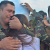 WATCH: Soldiers turns emotional while saying goodbye to their loved ones before leaving for Marawi