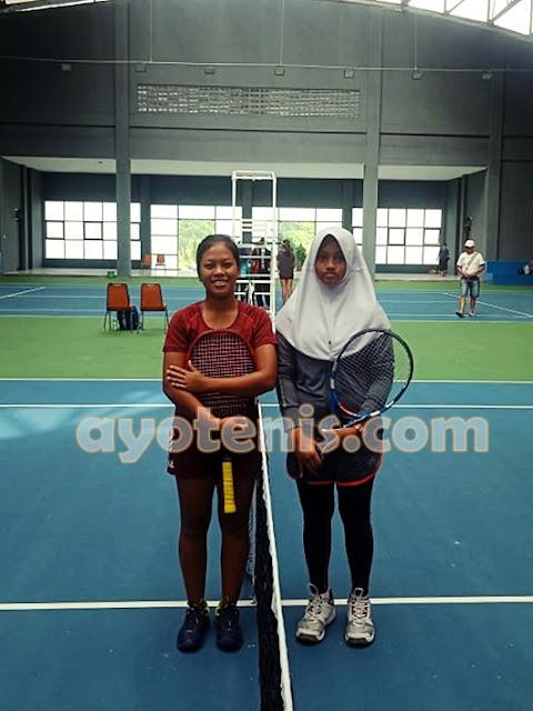 KM Gina Kusuma Dewi Melenggang ke Babak 2 Kejurnas Tenis New Armada Cup XXIV