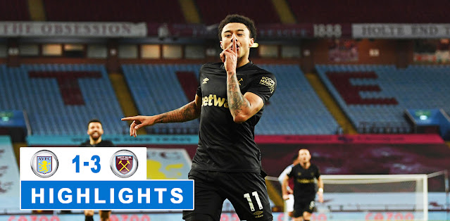 Aston Villa vs West Ham United – Highlights