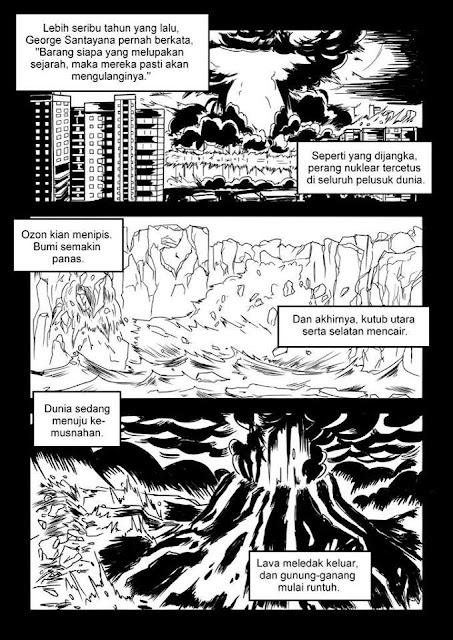 Komik Dakwah GODCENTRIC 2 : Dunia Menuju Kemusnahan Kerana Tangan Manusia