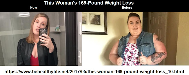 This Woman's 169-Pound Weight Loss