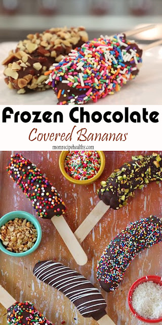 Frozen Chocolate Covered Bananas Recipe (+video)