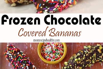 Frozen Chocolate Covered Bananas Recipe (+video)