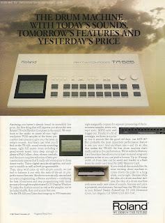 HAPPY 626 day! Roland TR-626 advertisement, 1988 / 626 ReBirth Mod