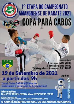 Campeonato Amazonense de Karate - 1ª Etapa