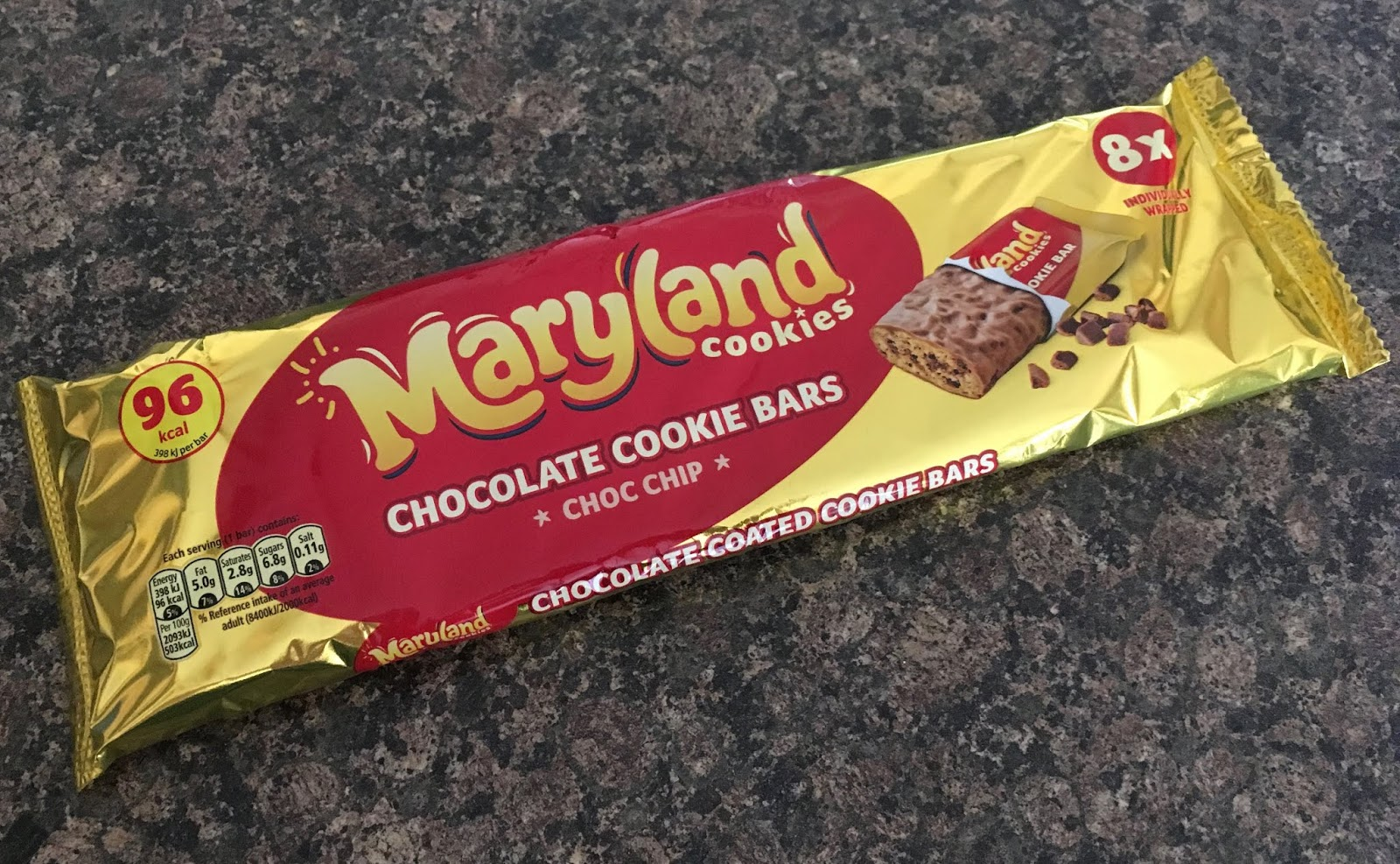 Foodstuff Finds Maryland Cookies Chocolate Cookie Bars