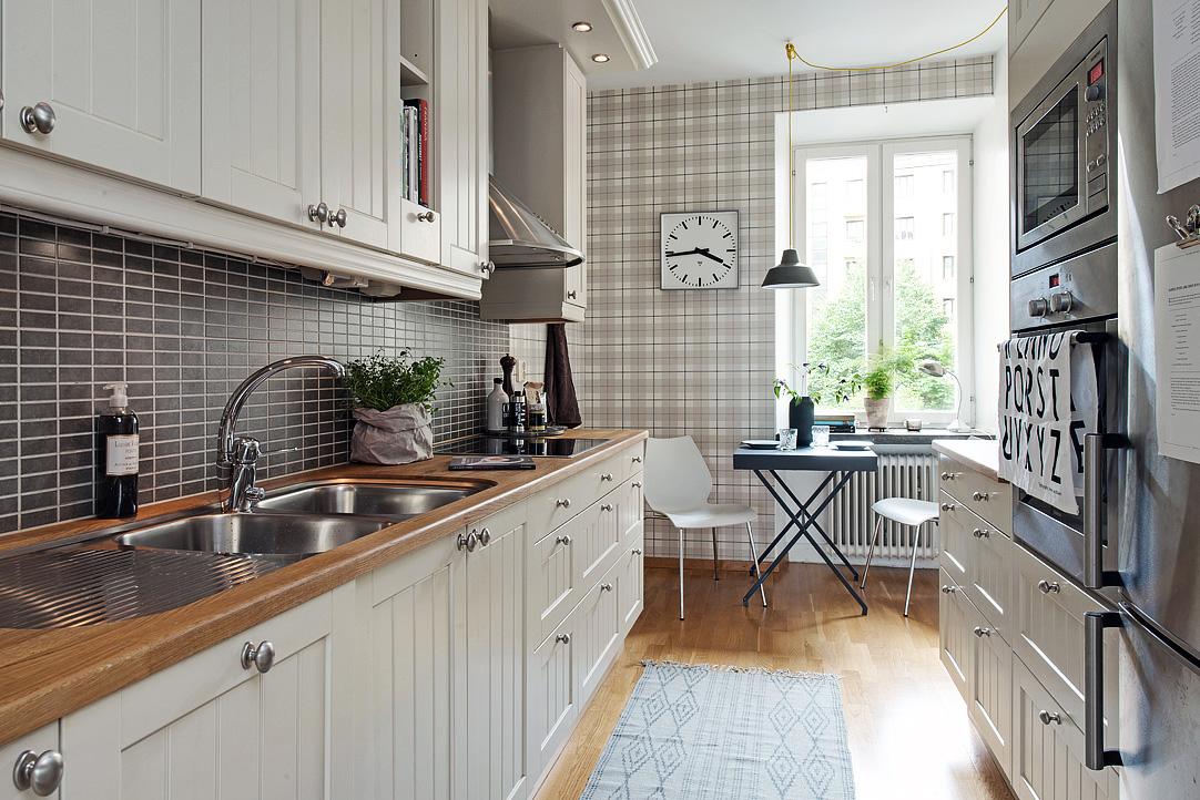 Pani Króliczek Tapeta do kuchni Jak wybrać odpowiednią   -> Kuchnia Tapeta Krata