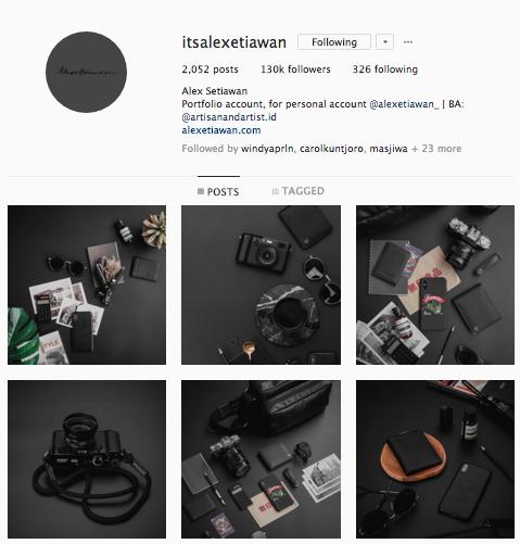 instagram flatlay