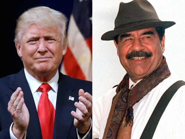Trump loves Saddam Hussein