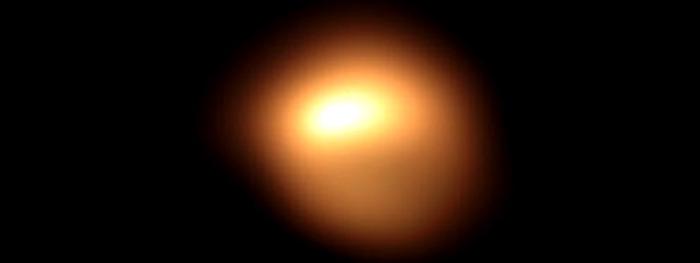 estrela betelgeuse novas imagens mostram que ela está torta
