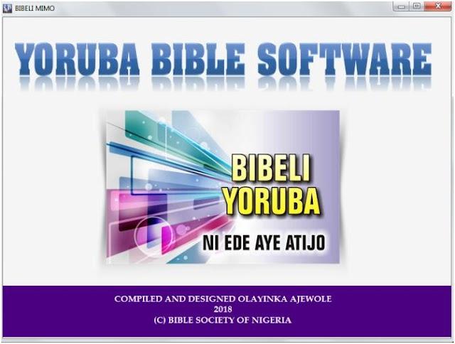 Download Yoruba Bible Software (Bibeli Mimo) for PC