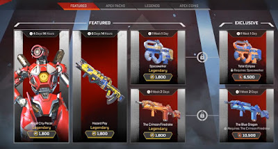 Unlock Skins, Characters, Apex Legends, Shop Guide