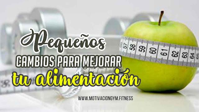 cambios alimentación gym