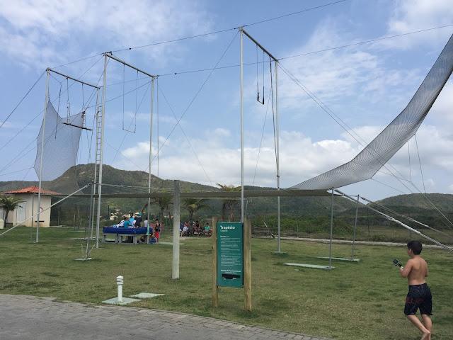 Trapézio de Circo - Blue Tree Park Búzios