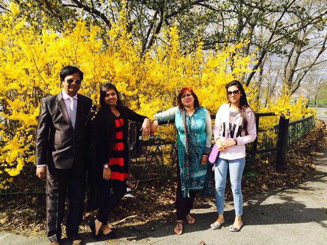 Bidya Sinha Saha Mim Family Photos