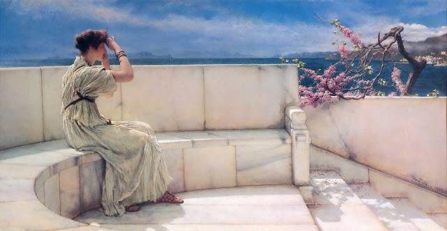 Lawrence Alma-Tadema - Expectations - 1885