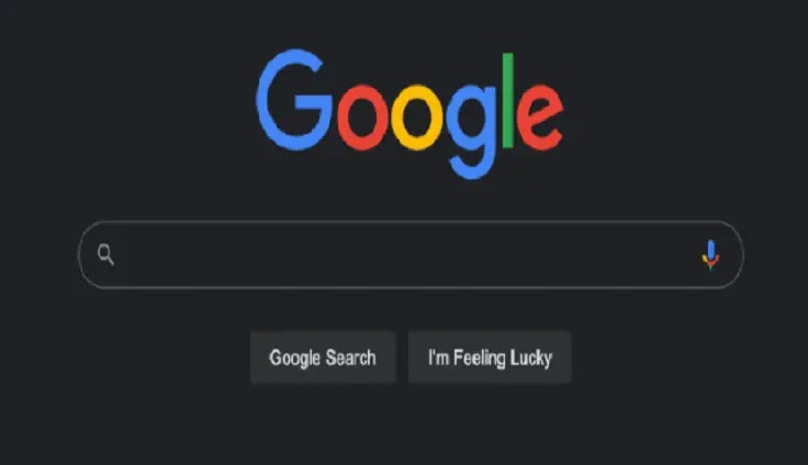 New Dark Mode Google search will match the system theme