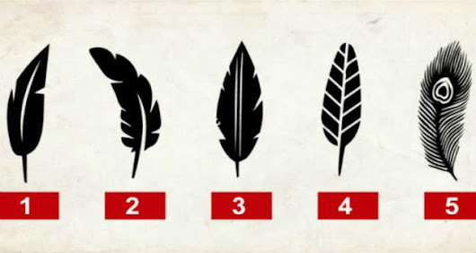 Tell me which feather you like and I'll tell you a secret about your personality. Will surprise you!