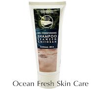 Gel conditioning shampoo seaweed chitosan