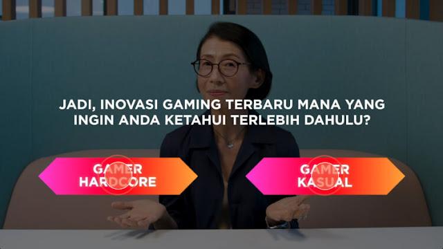 definisi gamer hardcore dan gamer casual
