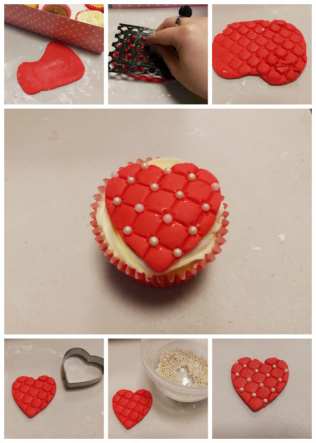Heart Cupcake Tutorial