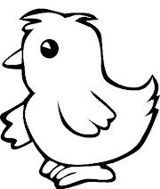 32+ Sketsa Gambar Ayam Mudah