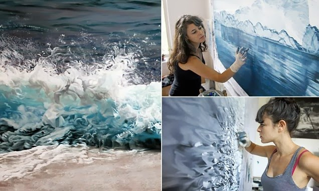 http://www.dailymail.co.uk/news/article-2558814/Finger-painting-good-The-photograph-like-images-sea-ice-created-New-York-artist-using-fingers-brush.html