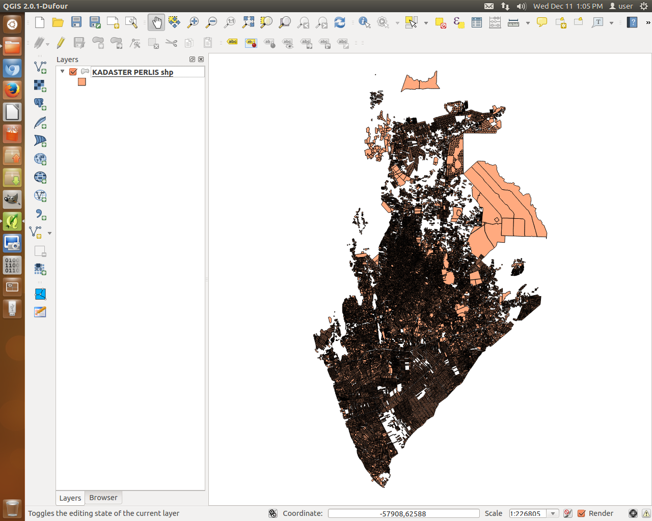 QGIS MALAYSIA: * Rendering speed : ArcGIS vs  MapInfo vs QGIS