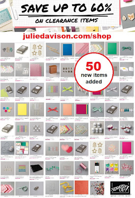 Stampin' Up! Clearance Rack Update: September 2020 ~ Shop Now at http://juliedavison.com/shop #stampinup #clearance