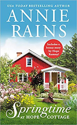 Book Review: Springtime at Hope Cottage, by Annie Rains, 4 stars