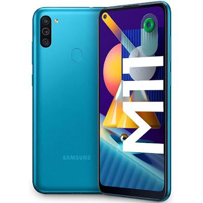 Samsung Galaxy M11 azul