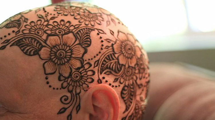 Henna Crown for Cancer Patients - Overcoming Cancer With