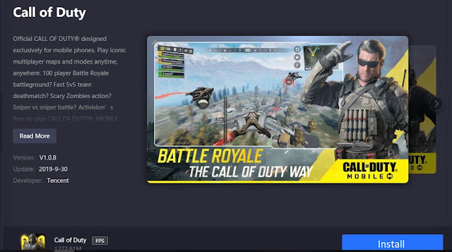 install call of duty on pc