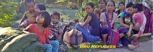 mizoram bru refugees