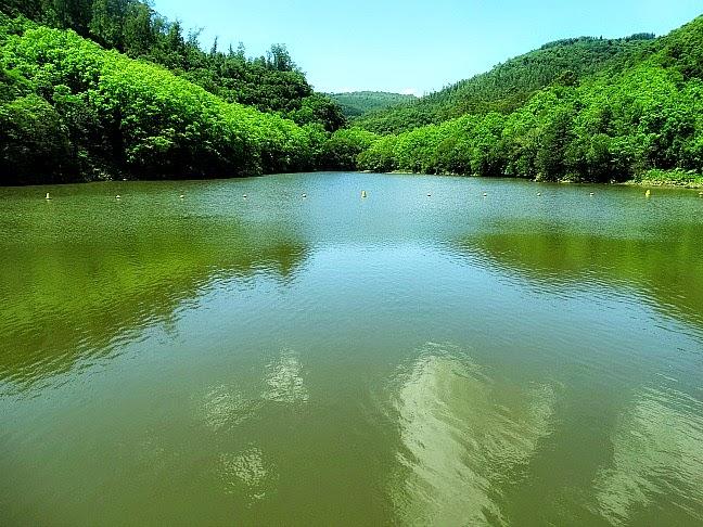 Barragem da Usina dos Bugres, em Canela