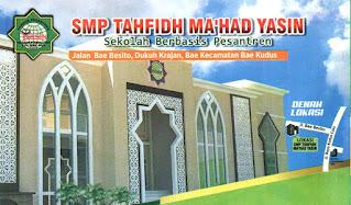 SMP Tahfidh Ma'had Yasin Kudus Membuka Lowongan Sebagai Guru