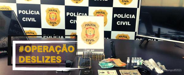 A PCDF prende autor de tentativa de latrocínio em Águas Claras
