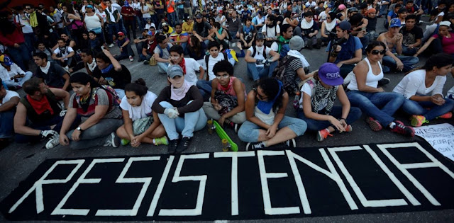 """Estos son los puntos del """"Gran Plantón"""" de este lunes en Caracas"""
