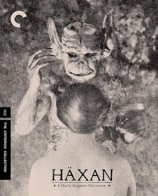 The Criterion Collection's Blu-ray cover for HAXAN.