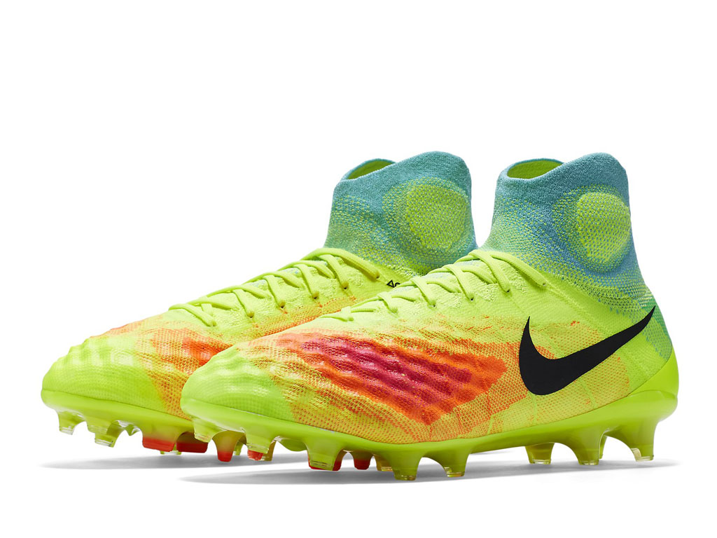 pretty nice de1d0 31874 Nike Magista Obra II FG Couleur:Volt/Orange total/Explosion rose/Noir  Référence : 844595-708