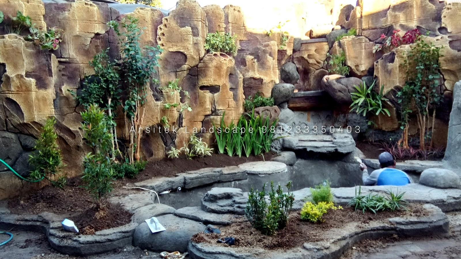 Jasa Pembuatan Lanskap Kolam Relief Dekorasi Tebing Air Terjun Dan Air Mancur Di Lamongan Jasa Pembuatan Taman