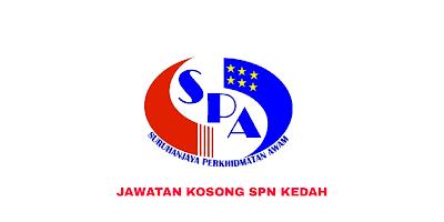 Jawatan Kosong Suruhanjaya Perkhidmatan Negeri Kedah 2019