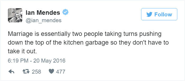 15+ Hilarious Tweets About Married Life That Perfectly Sum Up Marriage border=