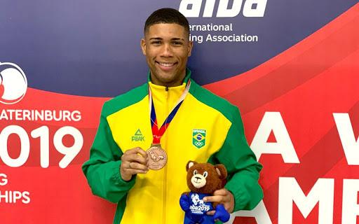 Hebert Conceição representa o boxe brasileiro em Tóquio 2020