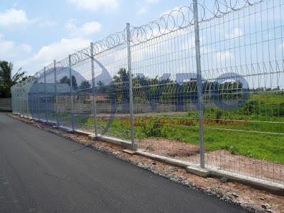 Distributor Pagar Bandara, Pabrik Pagar Bandara