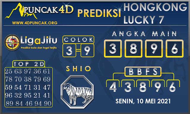 PREDIKSI TOGEL HONGKONG LUCKY 7 PUNCAK4D 10 MEI 2021