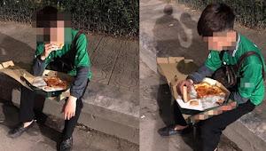Begini Reaksi Driver Ojek Online Ketika Order Makanan Dicancel Pelanggan
