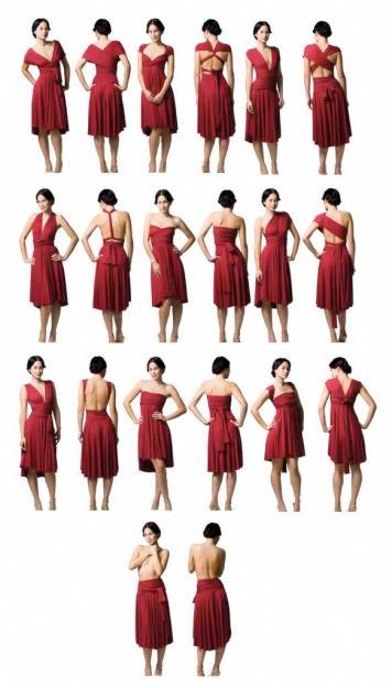 e3e598623 Descobri um vestido que pode ser usado de várias formas. Fica aqui um video  e o molde do vestido para quem quiser experimentar fazê-lo.