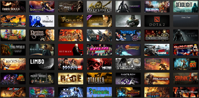 Steam Library Example