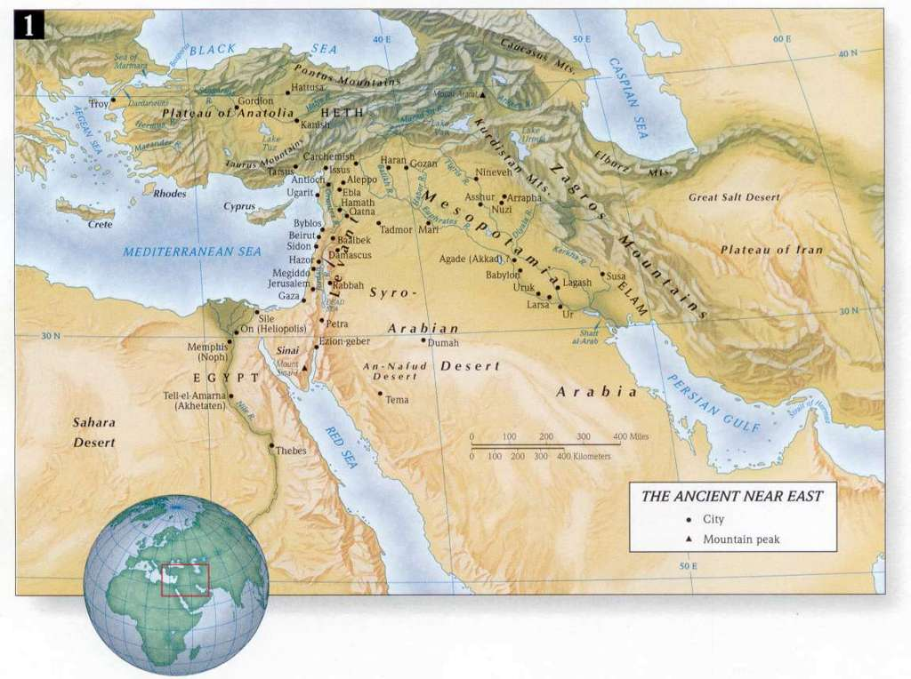The Ancient Near East Map | Autumn Weddings Pics